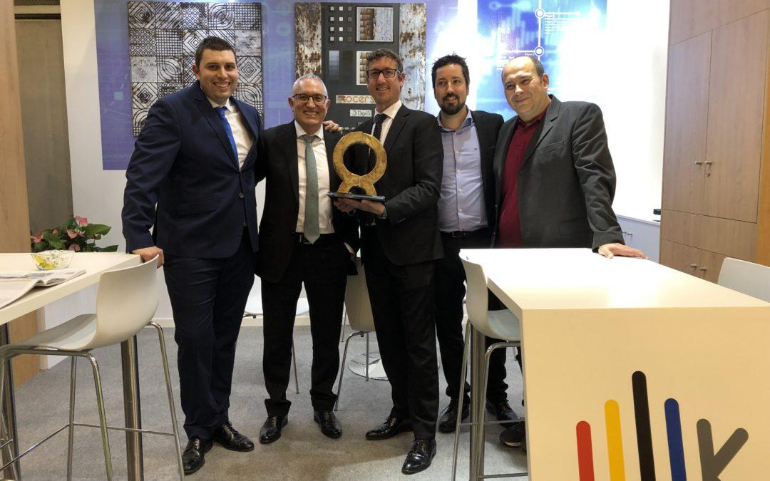 Digit-S logra un Alfa de Oro en Cevisama 2019